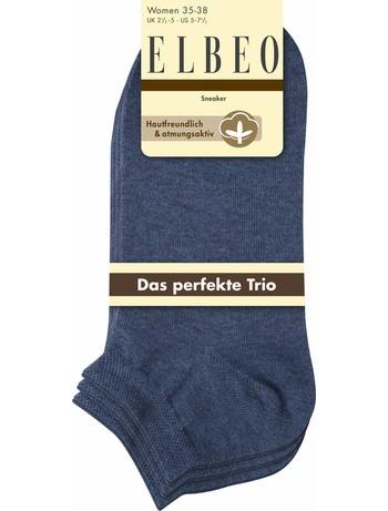 Elbeo The Perfect Trio Sneaker Socks