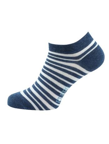 Elbeo The Perfect Trio Ankle Socks denim melange