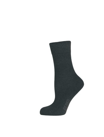 Elbeo pure Cotton Women Sensitive Socks black
