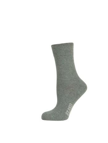 Elbeo pure Cotton Women Sensitive Socks anthracite melange
