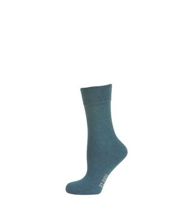 Elbeo pure Cotton Women Sensitive Socks denim melange