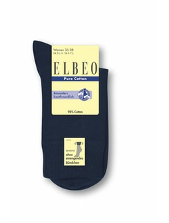 Elbeo pure Cotton Women Sensitive Socks