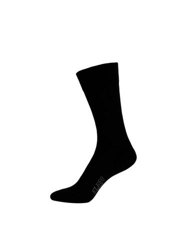 Elbeo Pure Cotton Sensitive Cotton Socks black