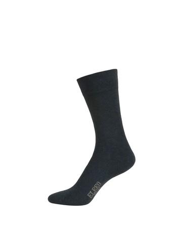 Elbeo Pure Cotton Sensitive Cotton Socks denim melange