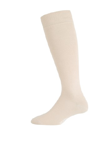 Elbeo Men's Pure Cotton Knee High Socks linnen