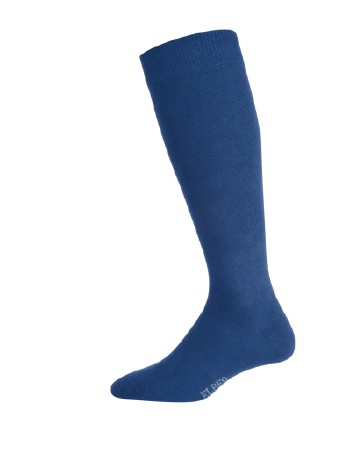 Elbeo Men's Pure Cotton Knee High Socks nightblue
