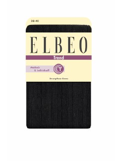 Elbeo Emma cable-stitch cotton tights
