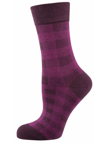 Elbeo Socke Alena cotton socks berry