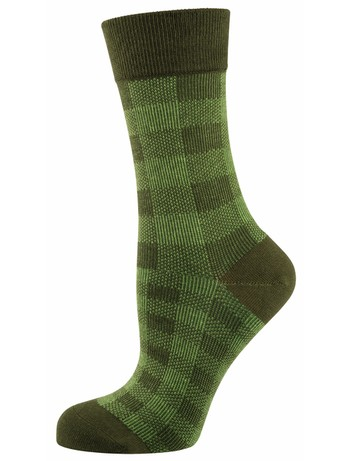 Elbeo Socke Alena cotton socks green