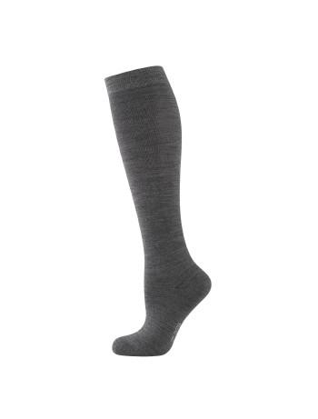 Elbeo Climate Comfort Knee High Socks for Women anthracite melange