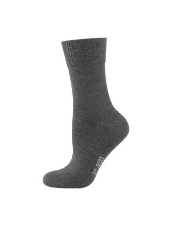 Elbeo Sensitive Wool Socks anthracite melange