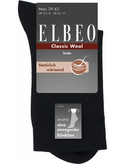 Elbeo Sensitive Wool Socks for Men