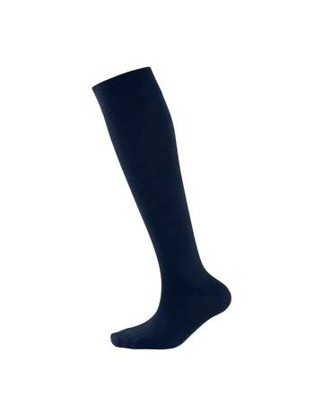 Elbeo Classic Wool Knee High Socks for Men nightblue