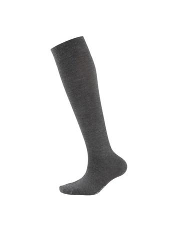 Elbeo Classic Wool Knee High Socks for Men anthracite melange