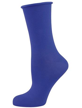 Elbeo Light Cotton Roll Top Socks pazific