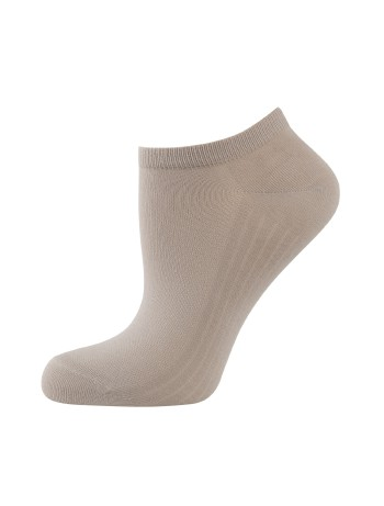 Elbeo Light Cotton Sneaker Socks taupe
