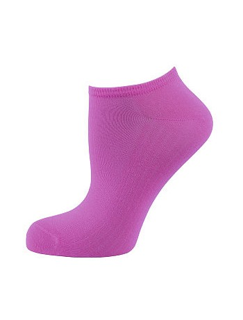 Elbeo Light Cotton Sneaker Socks fuchsia