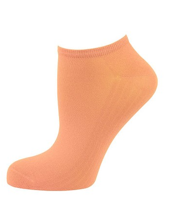 Elbeo Light Cotton Sneaker Socks orange