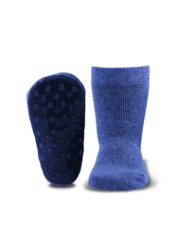 Ewers Stoppi Children's House Socks jeans-jaspe