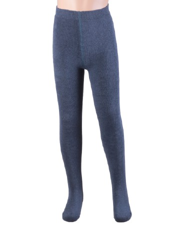 Ewers Plush Fleece-lined Children's Tights jeans-jaspe