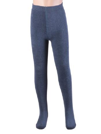 Ewers Plush Fleece-lined Children's Tights jeans-jaspe