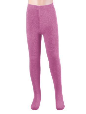 Ewers Plush Fleece-lined Children's Tights old rose