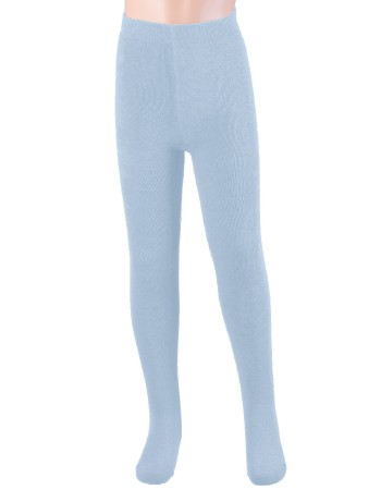 Ewers Plush Fleece-lined Children's Tights pale blue