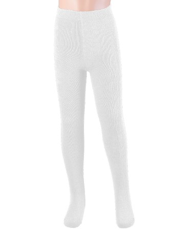 Ewers Plush Fleece-lined Children's Tights white