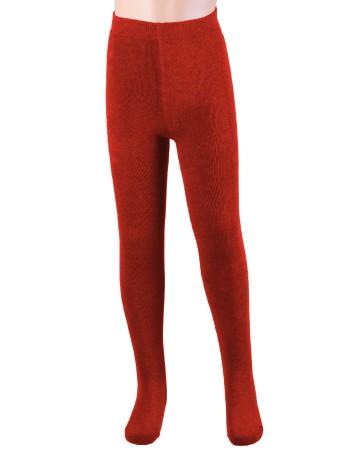 Ewers Plush Fleece-lined Children's Tights crimson