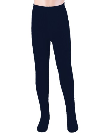 Ewers Plush Fleece-lined Children's Tights navyblue