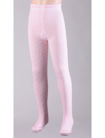 Ewers Polka Dot Children's Tights pink dots