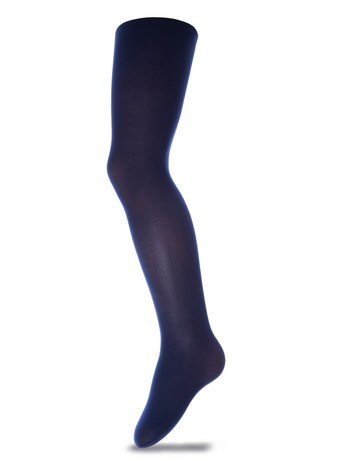 Ewers Fine Opaque Cotton Tights navyblue