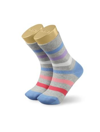 Falke New Stripe Children's Socks storm grey