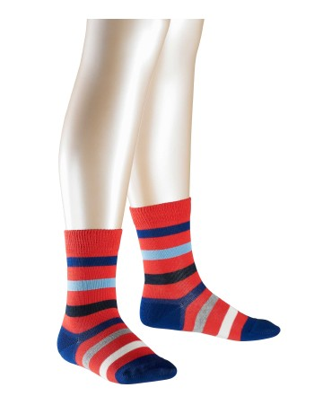 Falke New Stripe Children's Socks lipstick