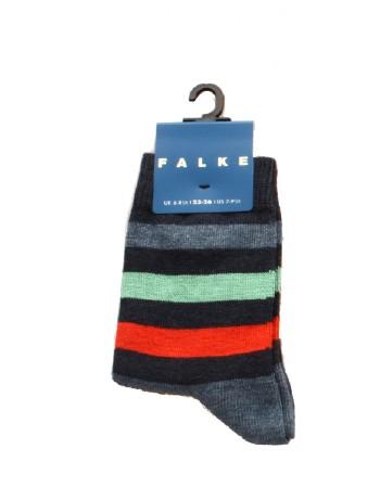 Falke New Stripe Children's Socks navyblue