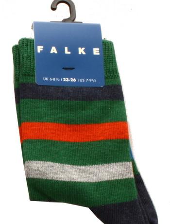 Falke New Stripe Children's Socks green