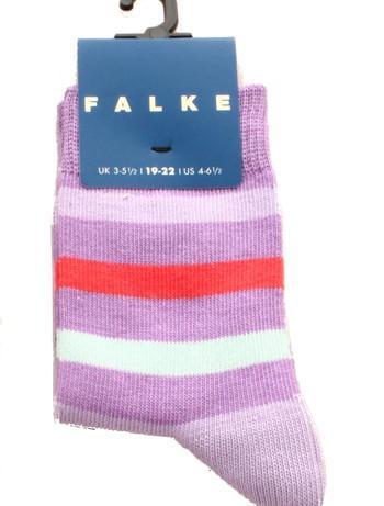 Falke New Stripe Children's Socks hyacinthe