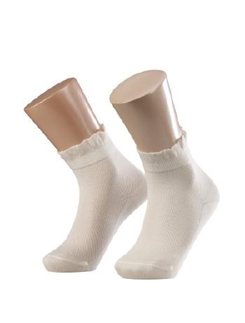 Falke Romantic Net Children Socks offwhite