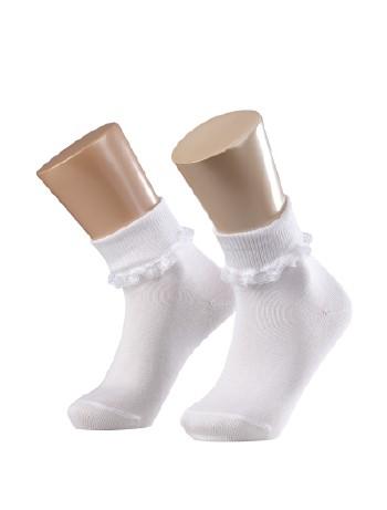 Falke Romantic lace Children's Socks white 2000