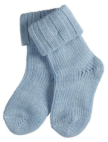 Falke Flausch Baby Socks crystal blue