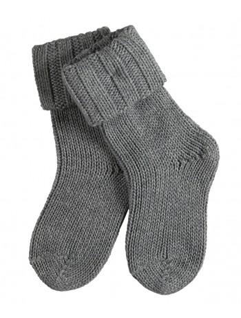 Falke Flausch Baby Socks light grey mel.