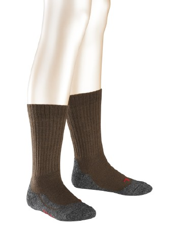 Falke Active Warm Socks for Children darkbrown