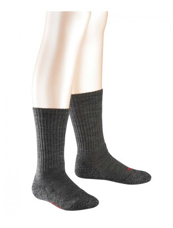 Falke Active Warm Socks for Children asphalte melange