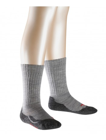 Falke Active Warm Socks for Children light grey melange