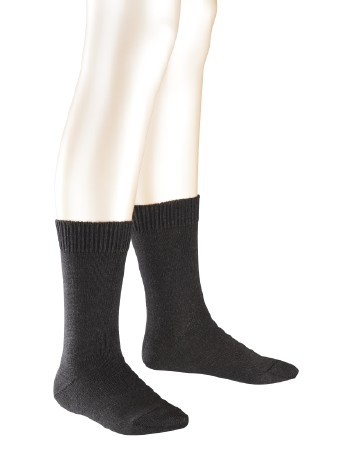 Falke Comfort Wool Children Socks anthracite mel.