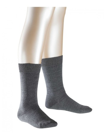 Falke Comfort Wool Children Socks dark grey