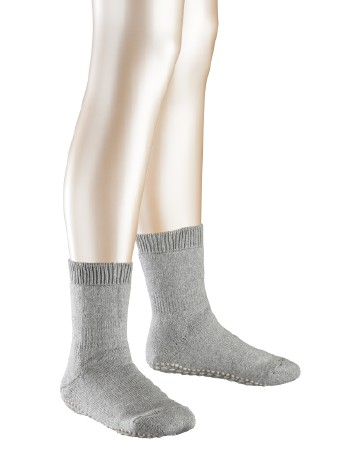Falke Catspads Children Homesocks light grey mel.
