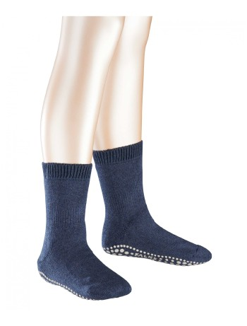 Falke Catspads Children Homesocks dark blue melange