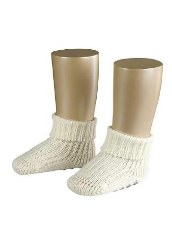 Falke Catspads Anti-Slip Baby Socks offwhite