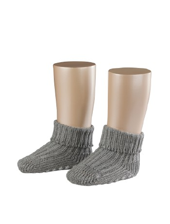 Falke Catspads Anti-Slip Baby Socks light grey mel.
